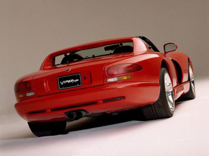 1996-02 Dodge Viper RT10 supercar wallpaper