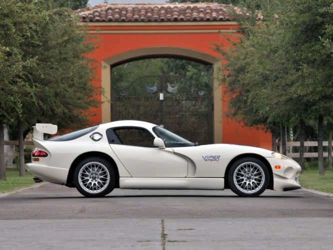 1998 Dodge Viper GTS-R GT2 supercar wallpaper