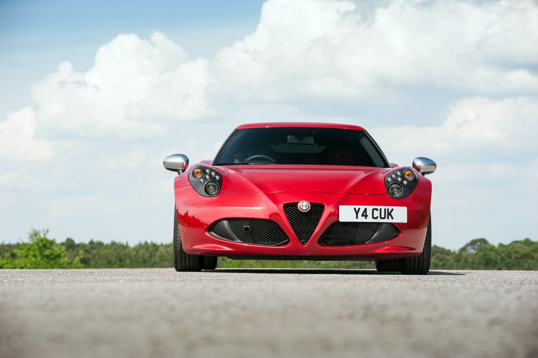 2015 Alfa Romeo 4-C UK-spec (960) supercar wallpaper