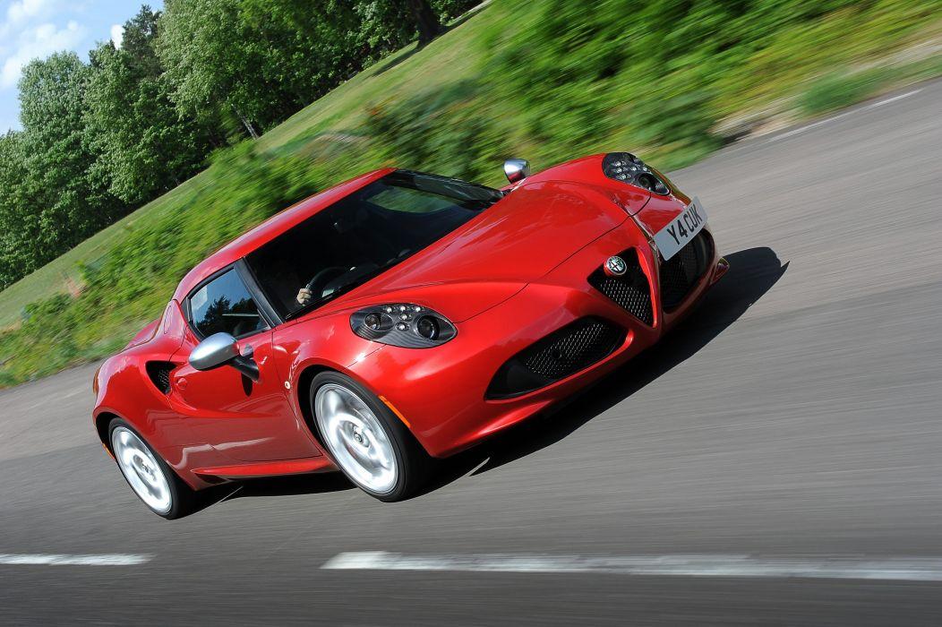 2015 Alfa Romeo 4-C UK-spec (960) supercar wallpaper