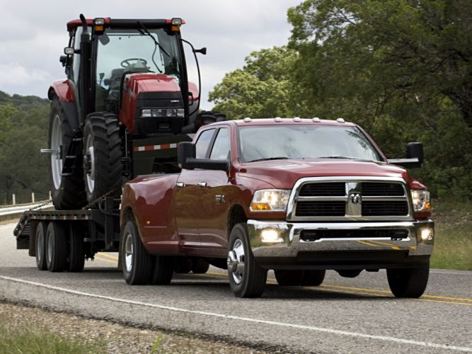 2009-12 Ram 3500 Heavy Duty Crew Cab pickup 4x4 wallpaper