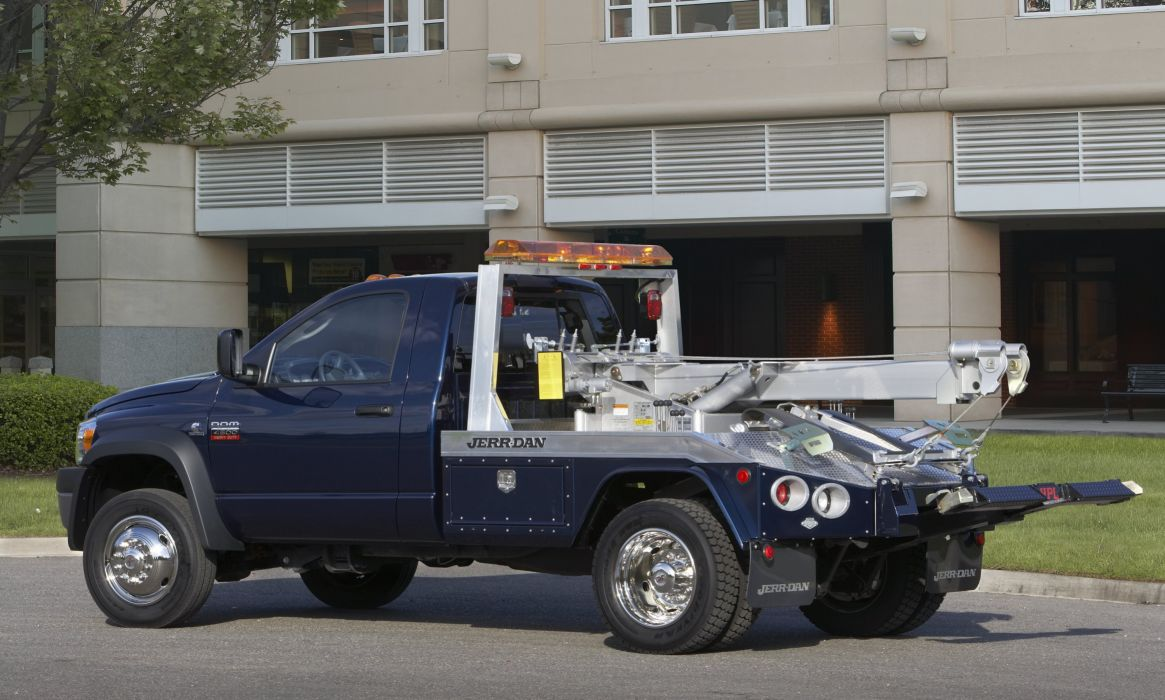 2009 Dodge Ram 4500 Tow Truck Jerr-Dan emergency wallpaper
