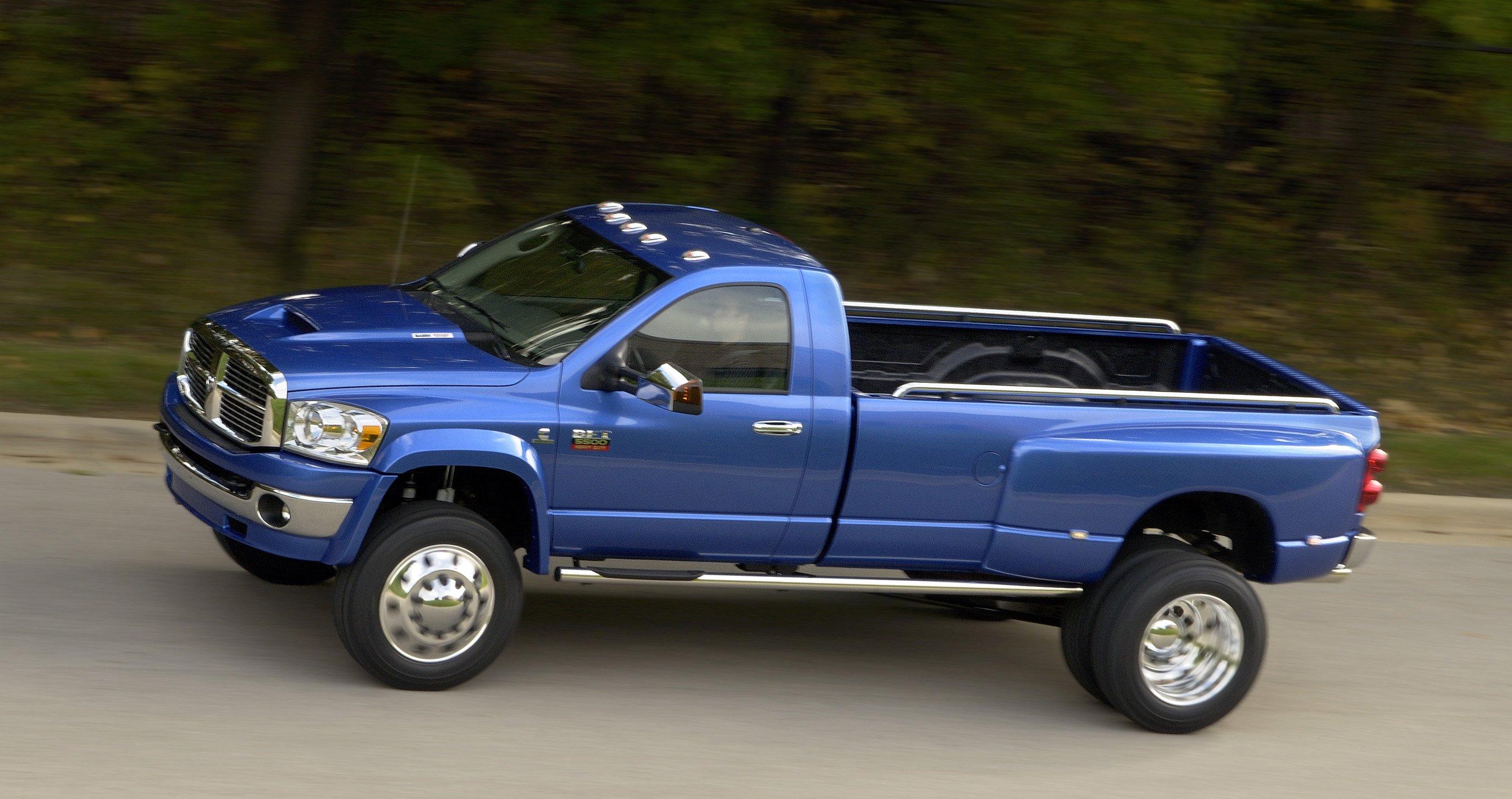2007 Dodge Ram BFT pickup diesel 4x4 wallpaper | 2750x1454 ...