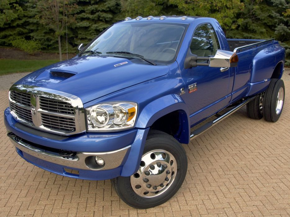 2007 Dodge Ram BFT pickup diesel 4x4 wallpaper