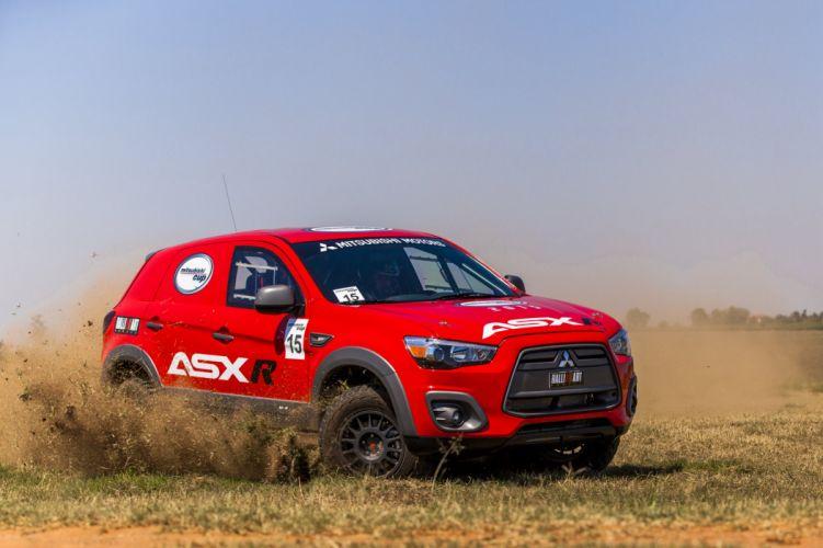 2014 Mitsubishi ASX model-r offroad racing awd 4x4 suv race wallpaper