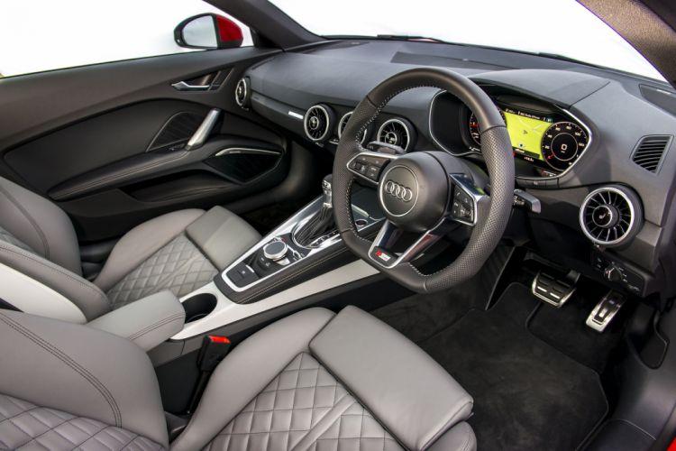 2015 Audi TT Coupe S-line TFSI quattro UK-spec (8-S) t-t wallpaper