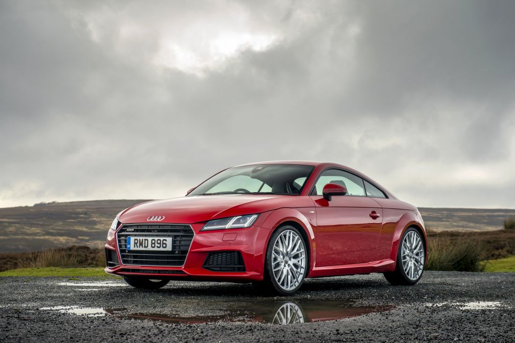 2015 Audi TT Coupe S-line TFSI quattro UK-spec (8-S) t-t wallpaper