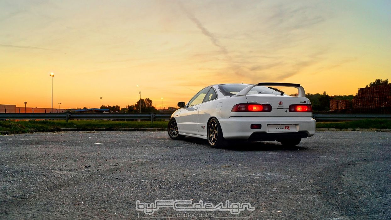 Honda integra type-r coupe cars tuning japan wallpaper