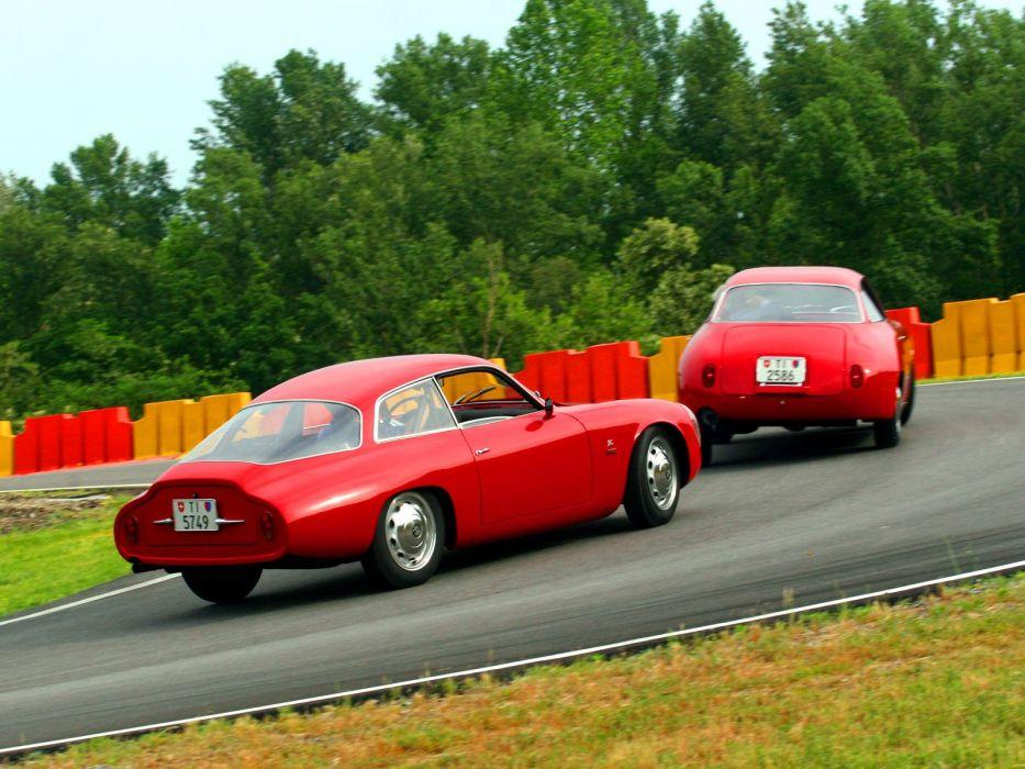 1960 1963 Alfa Romeo Giulietta S-Z Coda Tronca classic wallpaper