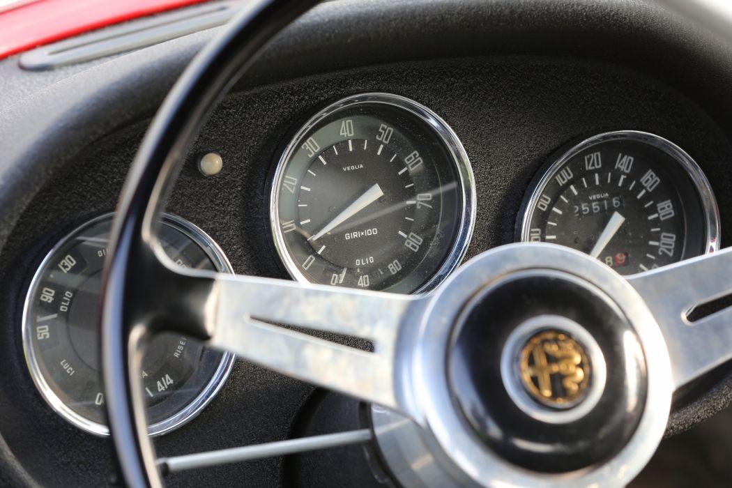 1958 Alfa Romeo Giulietta Sprint Veloce (750) retro wallpaper