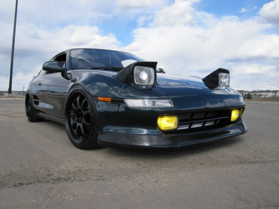 Toyota MR2 coupe spider japan tuning cars wallpaper