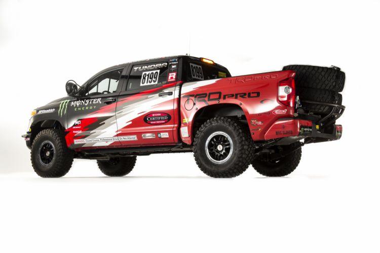 2014 TRD Toyota Tundra Pro Desert Race racing offroad pickup wallpaper