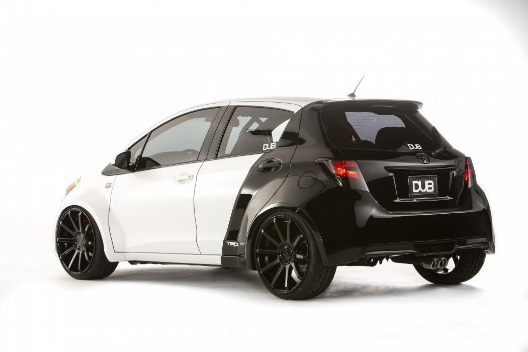 2014 Toyota Yaris DUB Concept tuning wallpaper