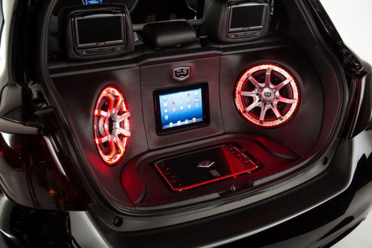 2014 Toyota Yaris DUB Concept tuning stereo speakers speaker wallpaper