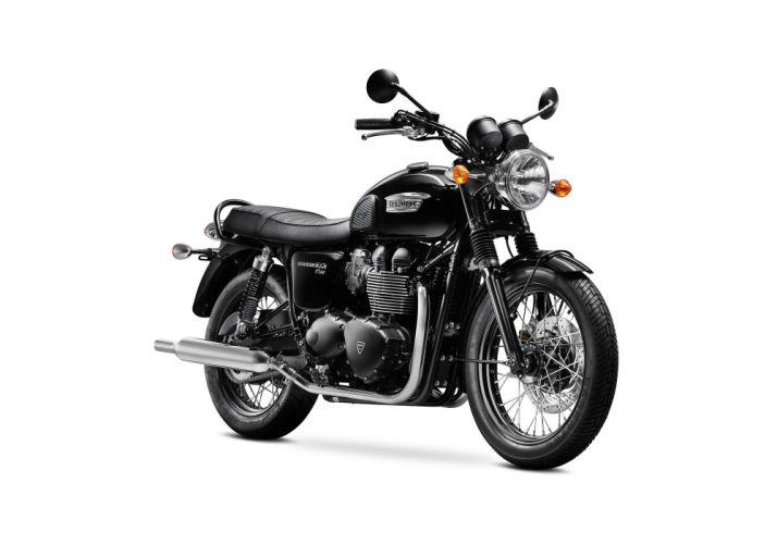 2015 Triumph Bonneville T100 Black wallpaper