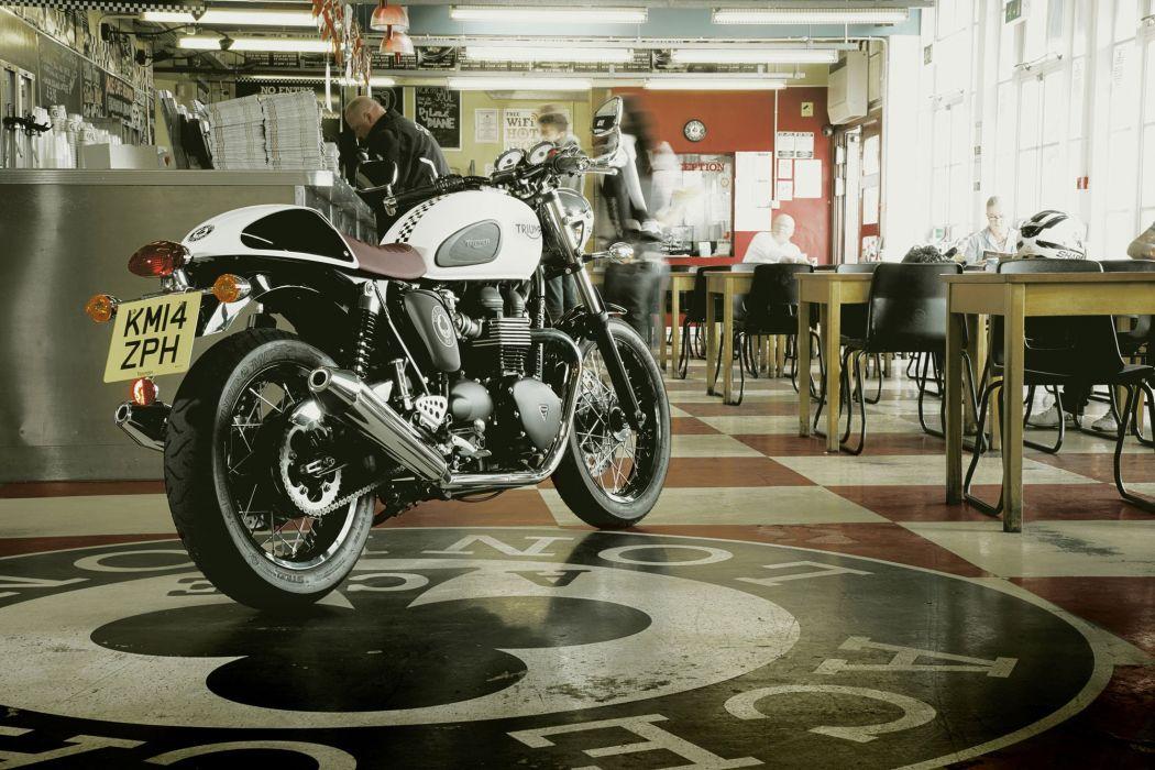 2015 Triumph Thruxton Ace Cafe S-E wallpaper
