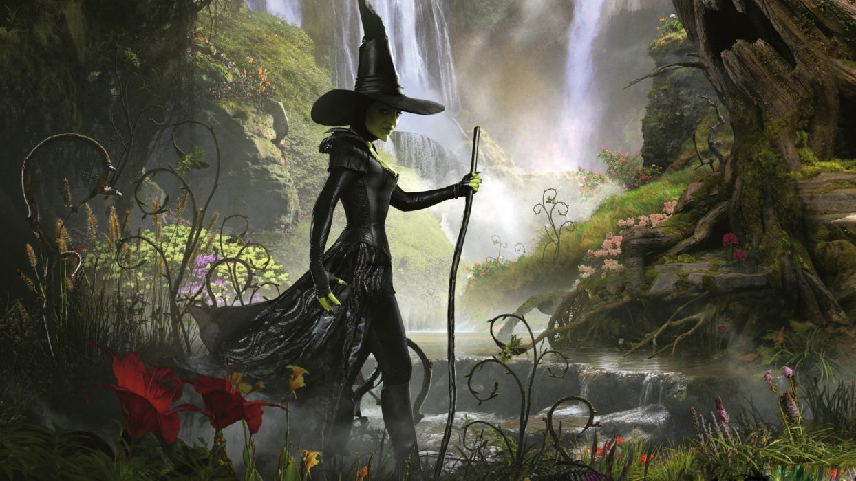 oz the great and powerful wicked witch of the west- wallpaper