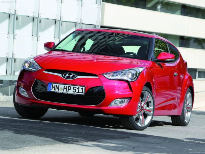 Hyundai Veloster cars coupe wallpaper