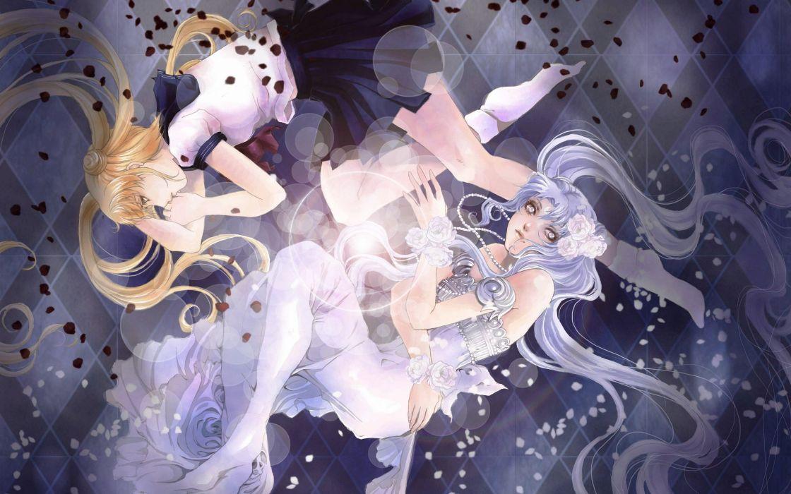 Bishoujo-Senshi-Sailor-Moon-anime series rose flower wallpaper
