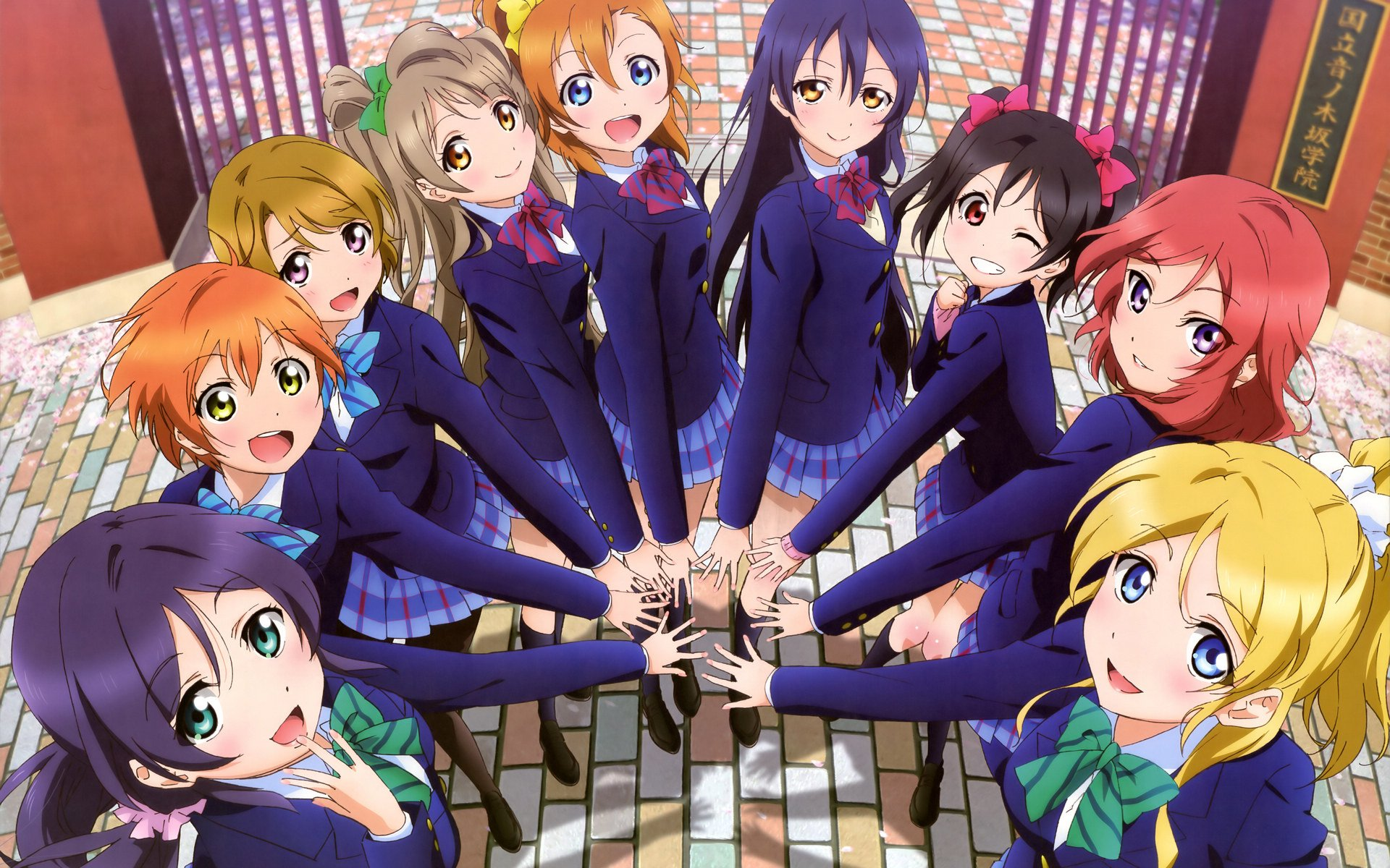 Anime series love live A wallpaper 1920x1200 505102 ...