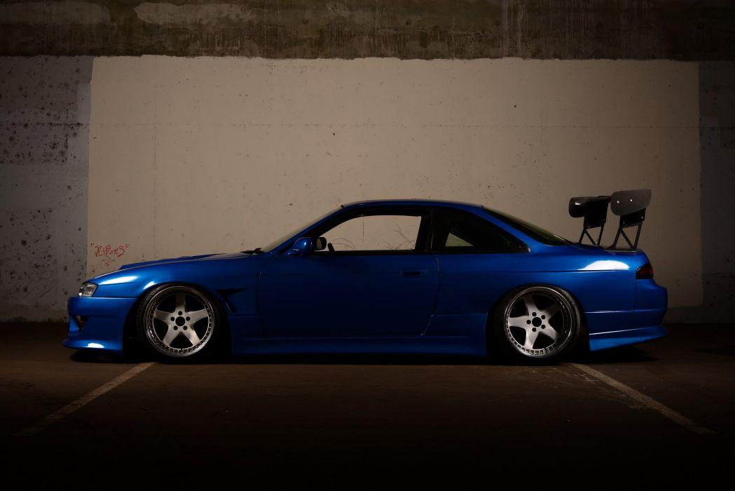 nissan silvia japan cars sedan coupe tuning wallpaper