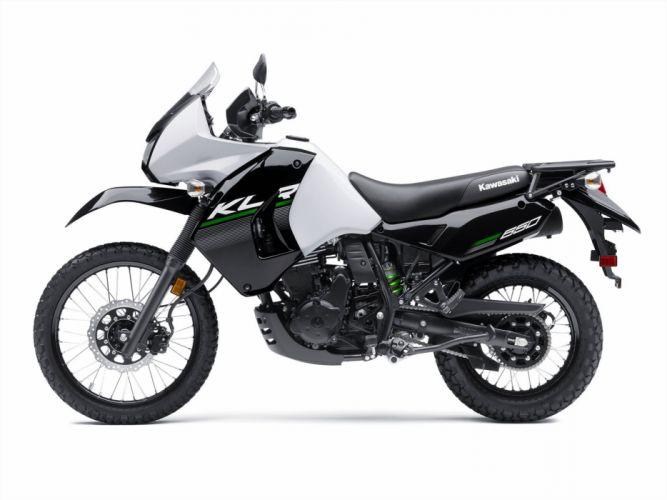2015 Kawasaki KLR650 dirtbike wallpaper