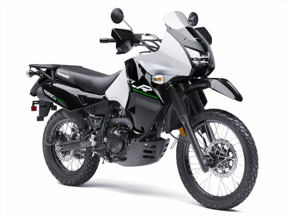2015 Kawasaki KLR650 dirtbike wallpaper
