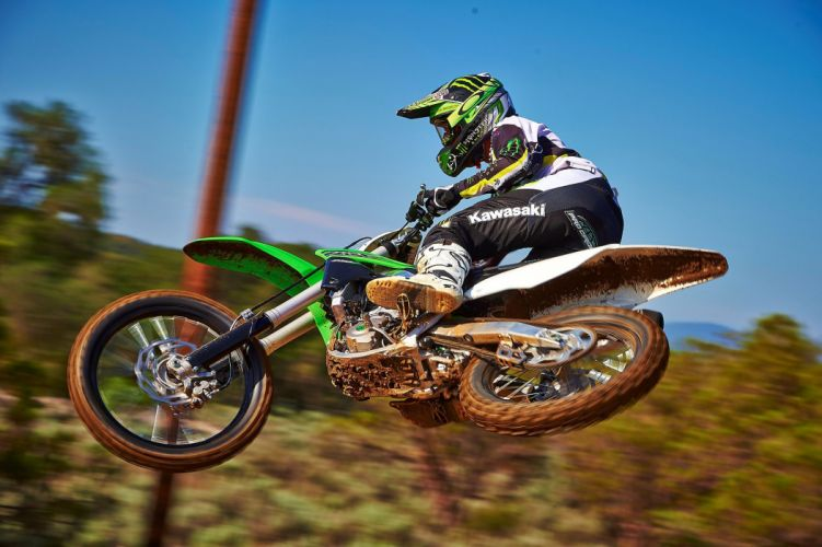 2015 Kawasaki KX250F motocross dirtbike wallpaper