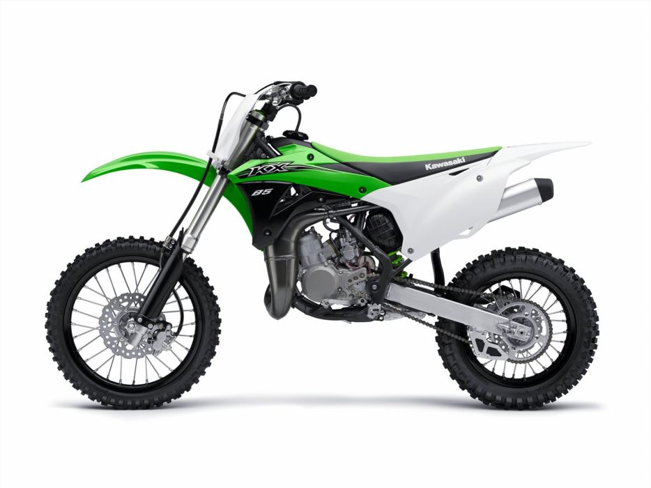 2015 Kawasaki KX85 motocross dirtbike wallpaper