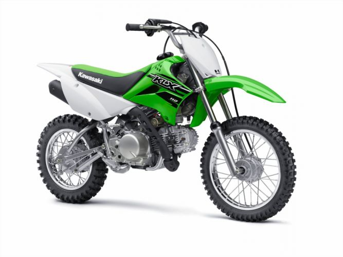 2015 Kawasaki KLX110 dirtbike offroad wallpaper