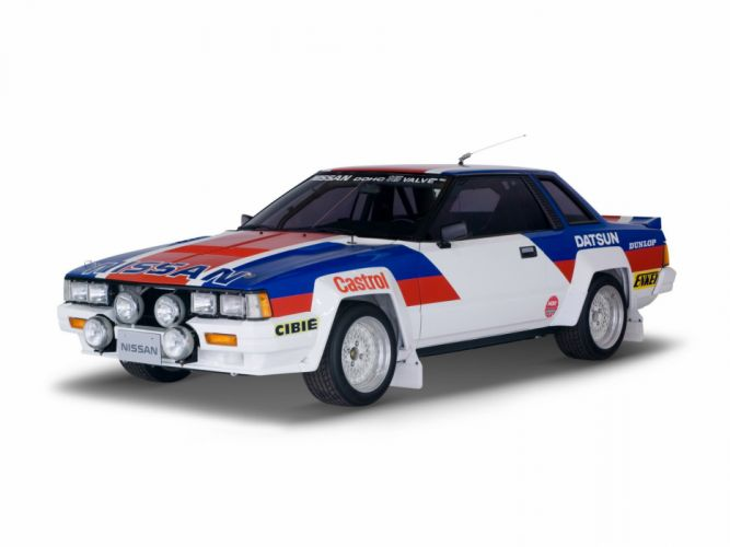 1982-85 Nissan Silvia R-S Rally Car (S110) race racing wallpaper