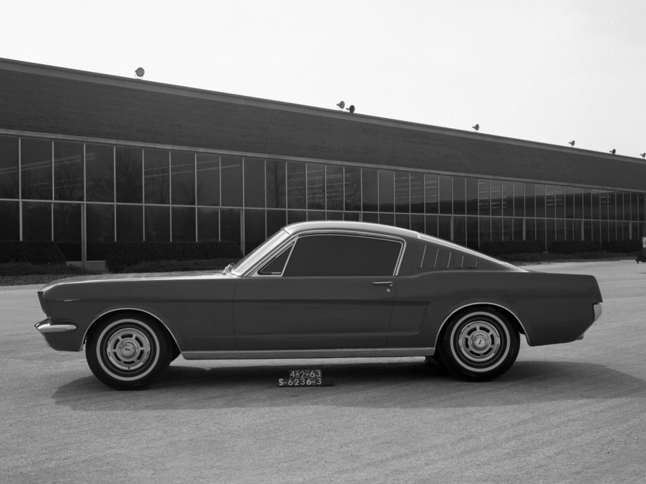 1963 Ford Mustang Cougar Fastback Proposal classic muscle wallpaper
