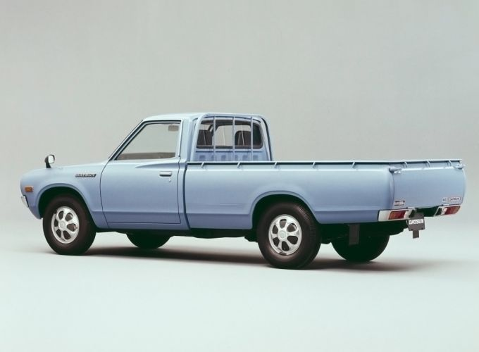 1972-79 Datsun Pickup JP-spec (620) pickup wallpaper