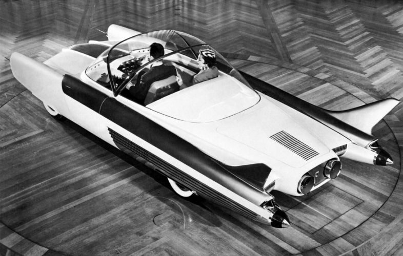 1954 Ford FX-Atmos Concept jet wallpaper
