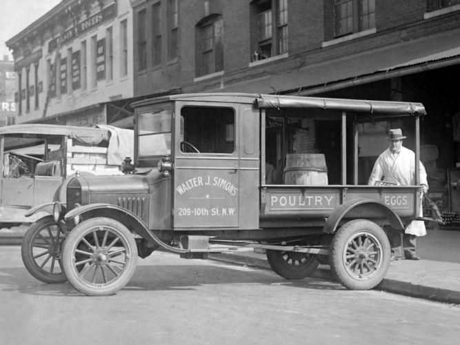 1926 Ford Model-TT Express delivery transport retro pickup wallpaper