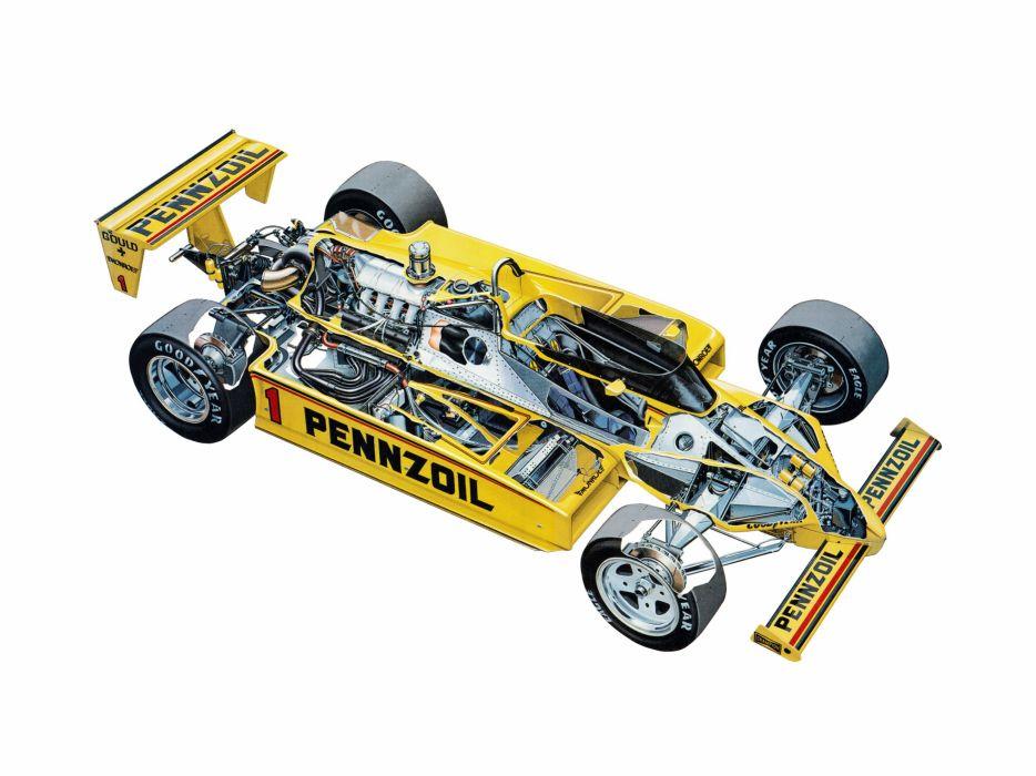 1983 Penske PC11 Indy race racing wallpaper