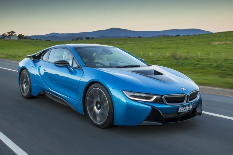 2015 BMW i-8 AU-spec electric hybrid f wallpaper