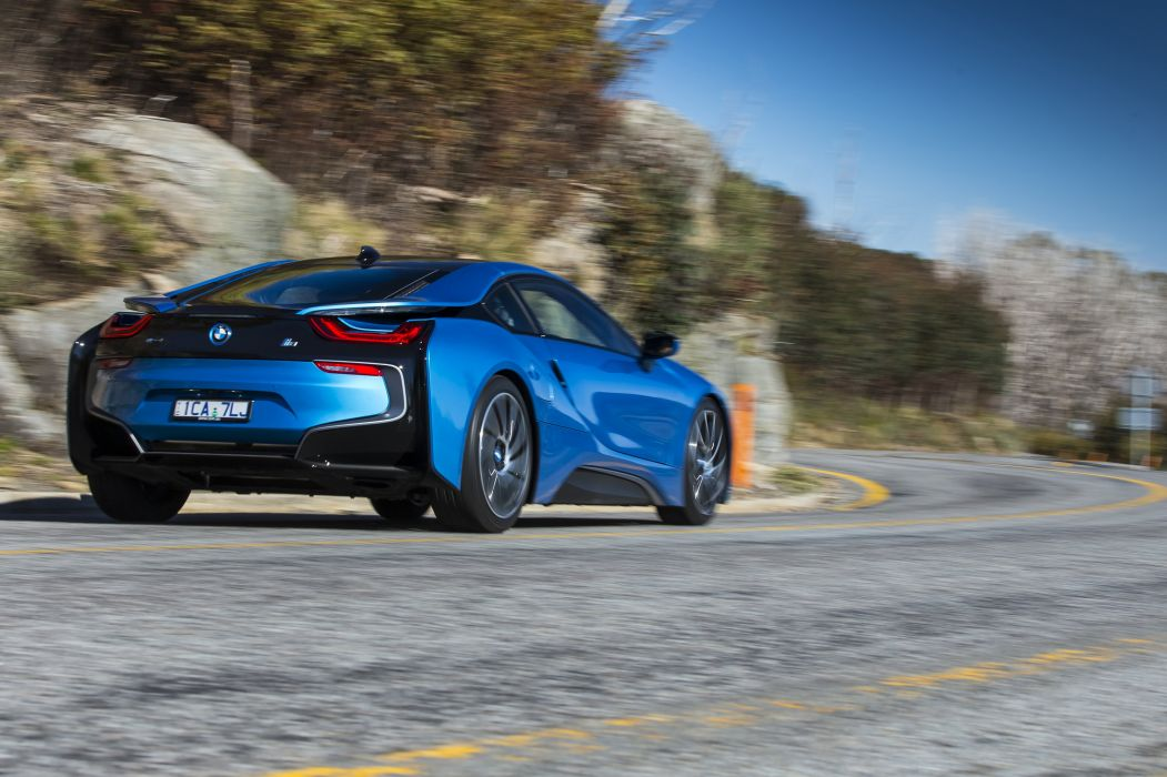 2015 BMW i-8 AU-spec electric hybrid f wallpaper