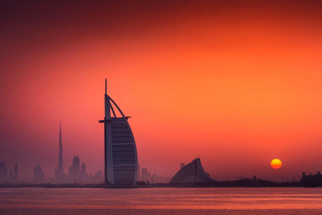 uae dubai Burj Al Arab skyscraper wallpaper