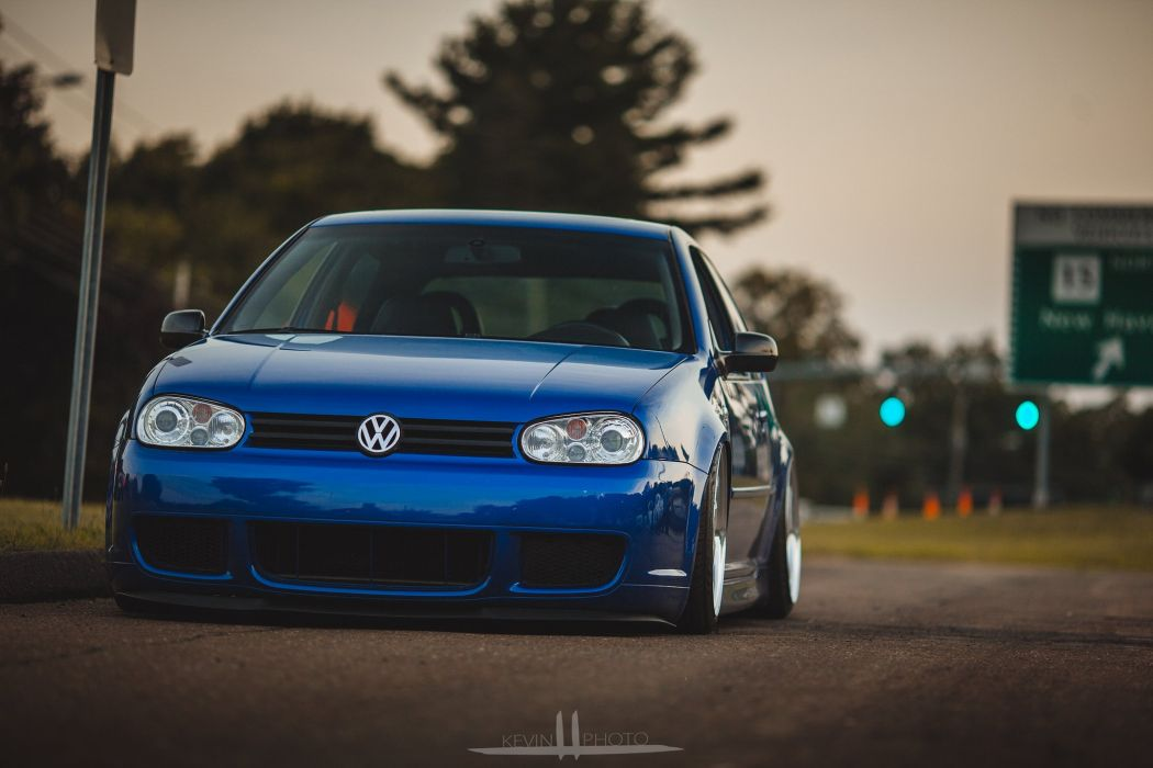 volkswagen golf gti tuning cars germany wallpaper