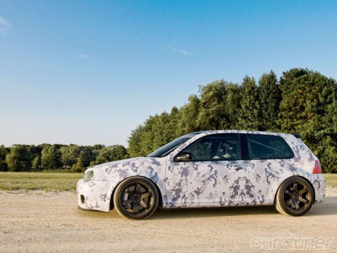 volkswagen golf gti tuning cars germany wallpaper