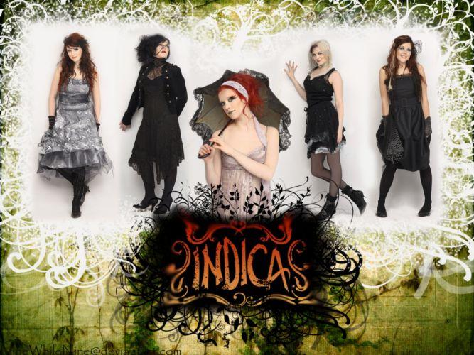 INDICA rock alternative symphonic metal heavy female wallpaper