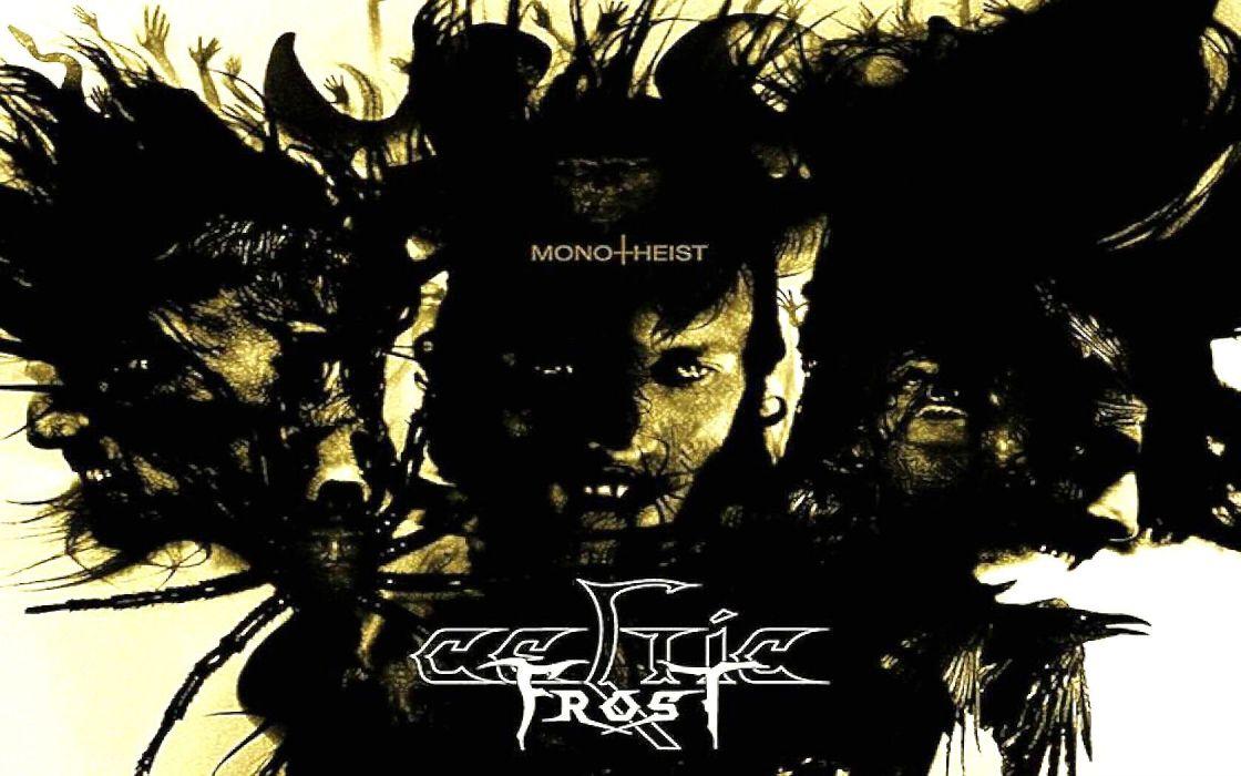 CELTIC FROST extreme metal experimental black heavy dark occult satanic wallpaper