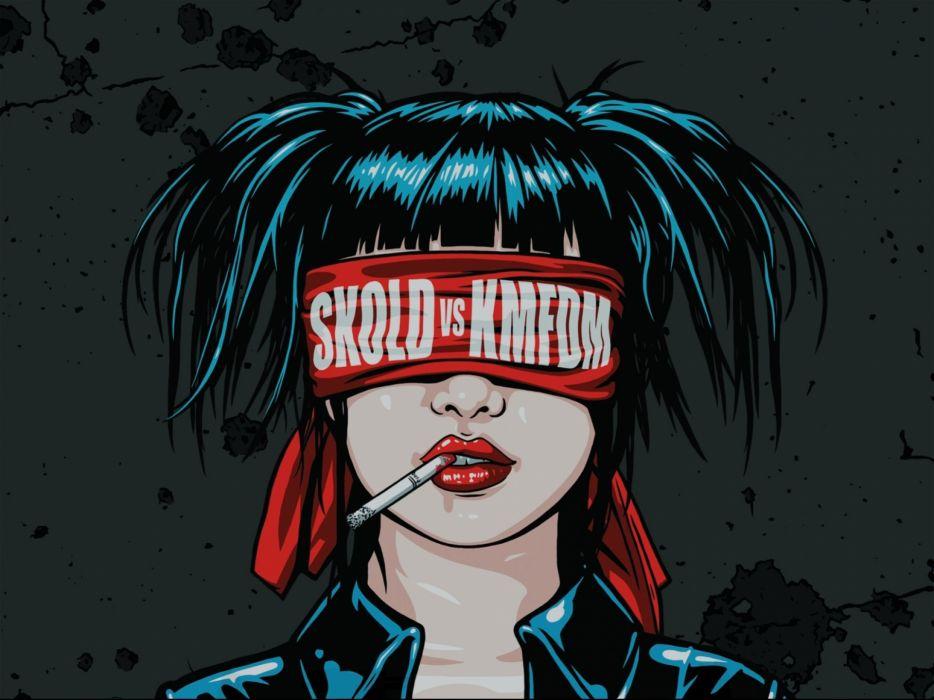 SKOLD KMFDM industrial metal rock electro wallpaper