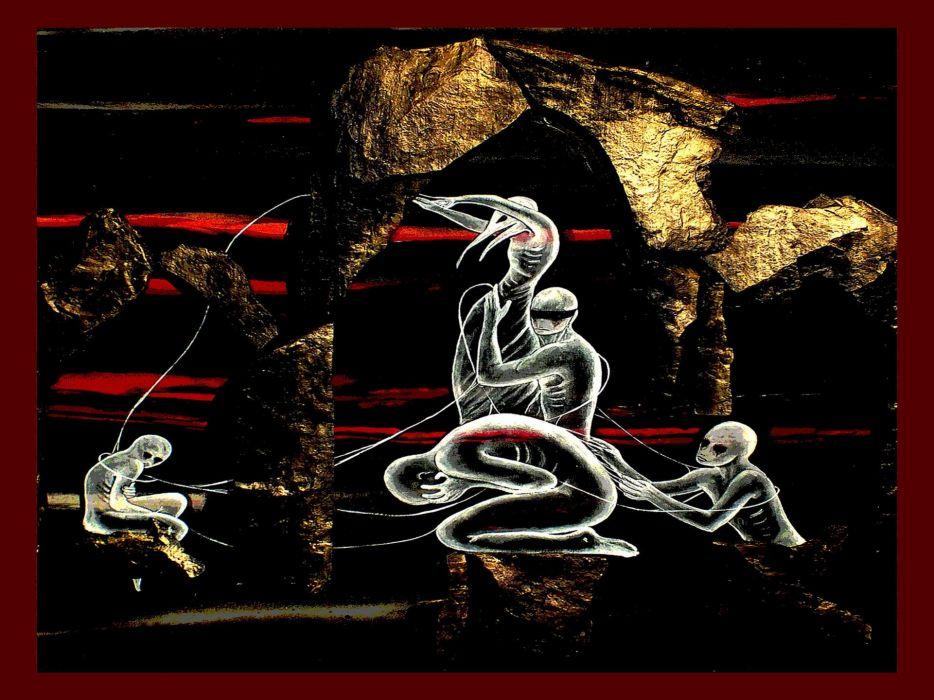 BLUT AUS NORD black metal industrial experimental symphonic dark occult wallpaper