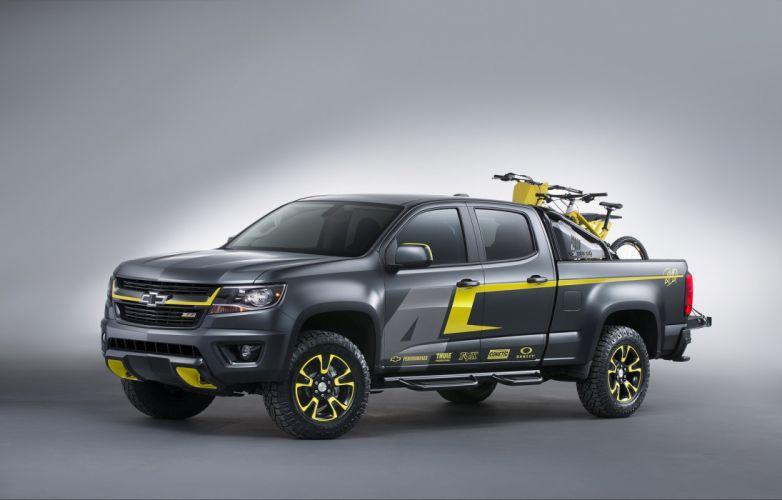 Chevrolet Colorado Performance Concept pickup SEMA 2014 cars wallpaper