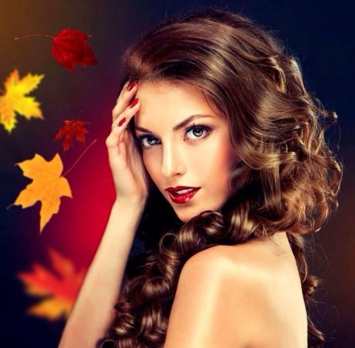 lovely model woman  wallpaper