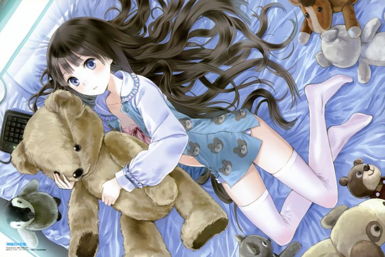 Kamisama no Memochou series Characters Yuuko Shionji wallpaper