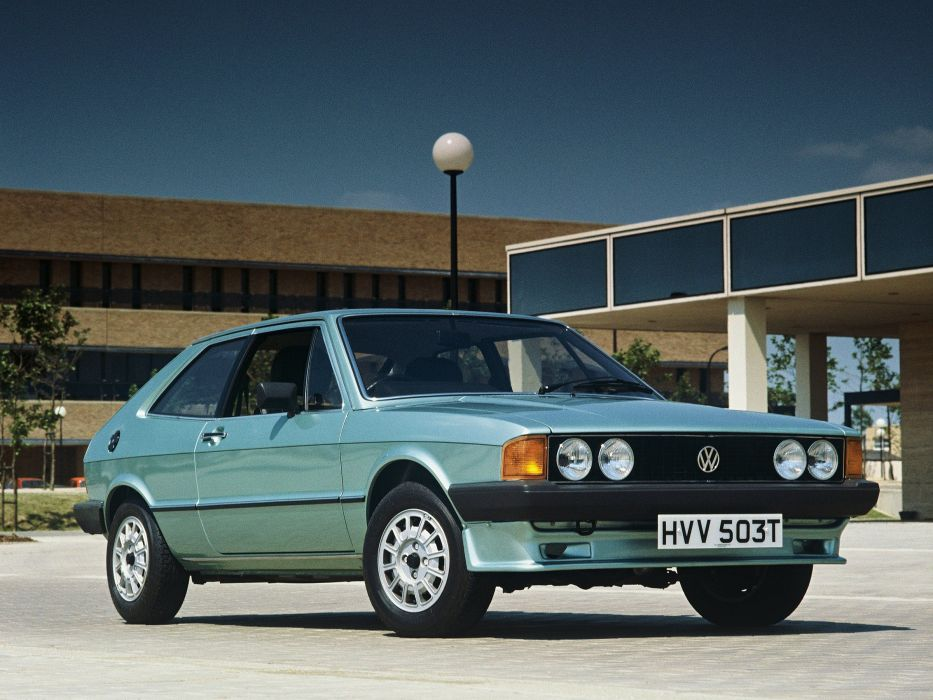 volkswagen scirocco mk1 cars coupe germany wallpaper