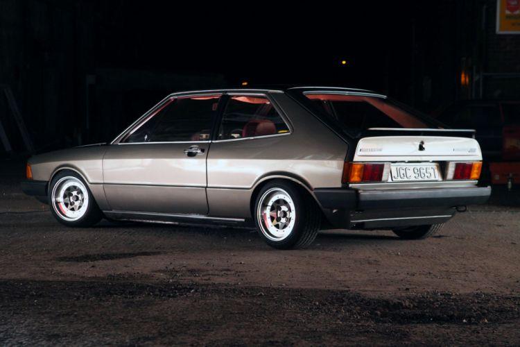 volkswagen scirocco mk1 cars coupe germany wallpaper